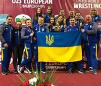Украинские борцы завоевали ряд наград на ЧЕ среди 23-летних