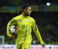 Сборная Украины осталась без одного из лидеров перед игрой с Люксембургом