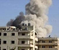 Войска Асада применили бочковые бомбы в Идлибе
