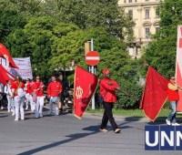 Жители Вены вышли на демонстрацию в День труда