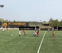 В течение года в Черниговской области построили 15 объектов футбольной инфраструктуры