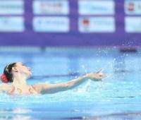 Украинки завоевали три награды на этапе Мировой серии по артистического плавания