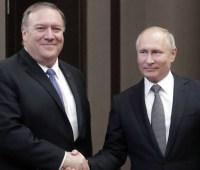 Президент РФ заявил Помпео, что надеется на восстановление отношений с США