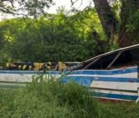 В Венесуэле по меньшей мере 16 человек погибли после того, как автобус упал в овраг