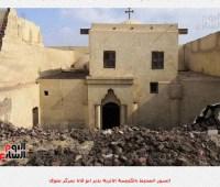 В Египте обрушилась стена старинной церкви, не менее 3 погибших