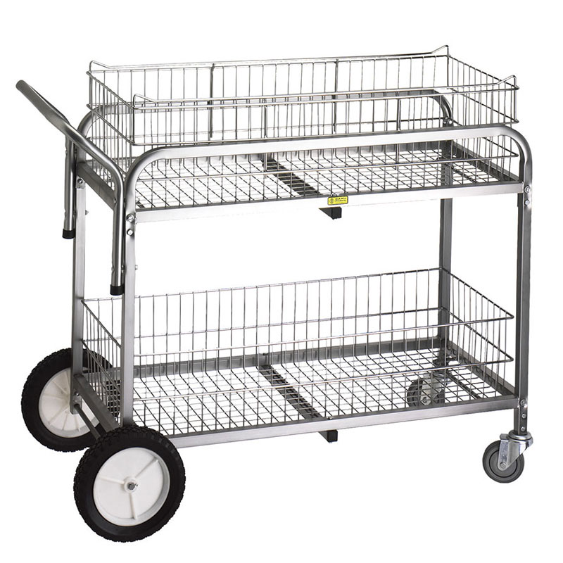 R&B Wire [510] Large Capacity Tubular Steel Utility Cart