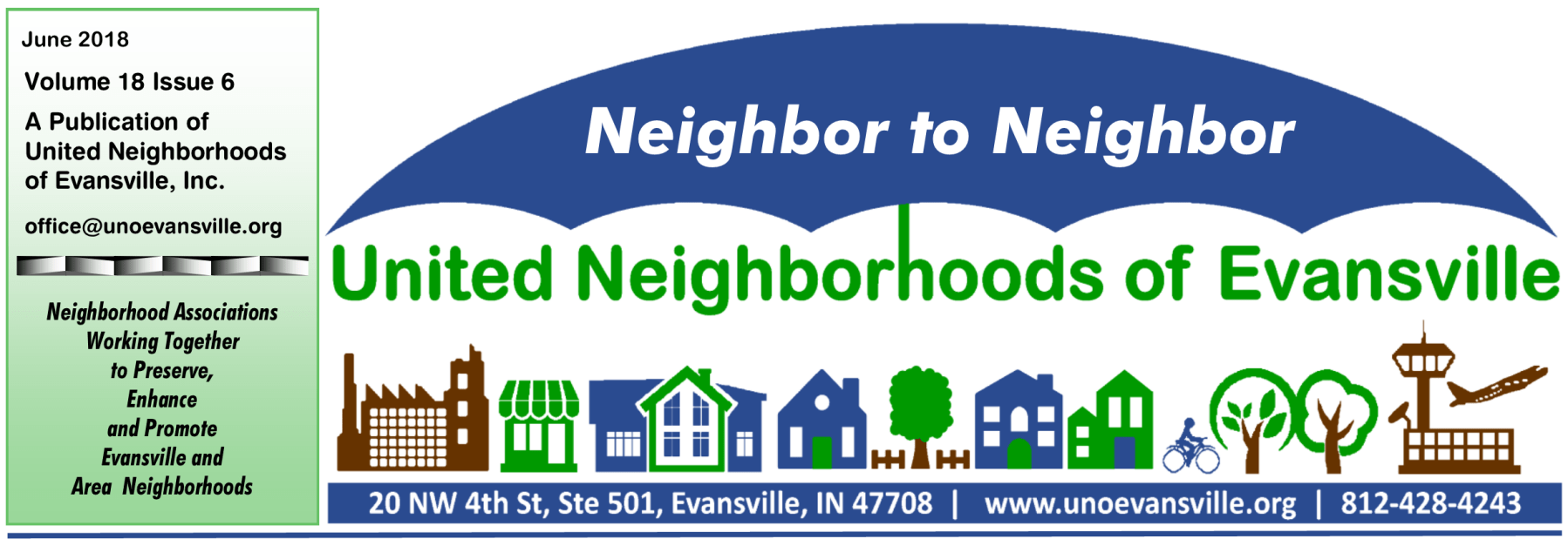 Announcements united neighborhoods of evansville page 2