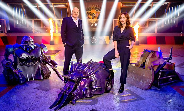 Scott and Chris to appear on Robot Wars