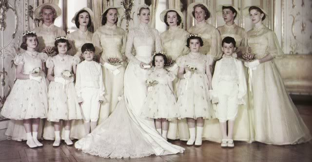 Rainier Grace Kelly Bridal Party