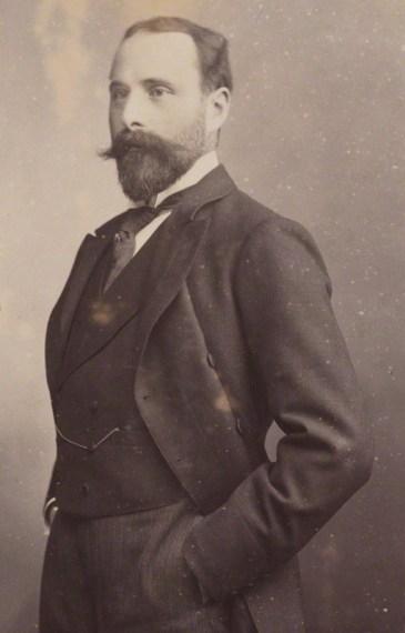 NPG P1700(21b); Prince Henry Maurice of Battenberg by Walery