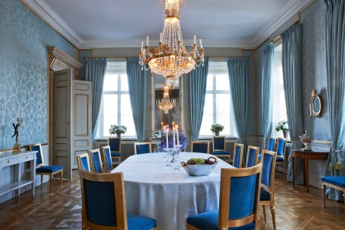 The Dining Room, source: Swedish Royal Court/Klas Sjöberg