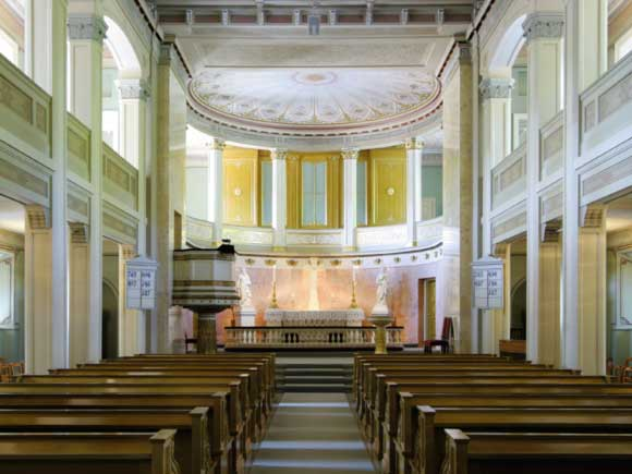 The Palace Chapel. source: The Royal House of Norway, photo: Kjetil Rolseth