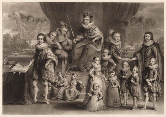 by Charles Turner, published by Samuel Woodburn, after Willem de Passe, mezzotint, published 1814