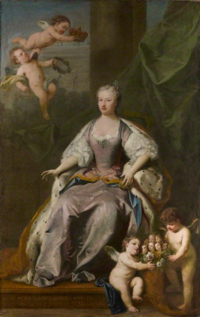 by Jacopo Amigoni, oil on canvas, 1735