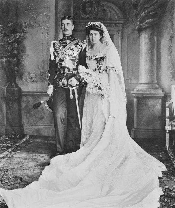 Risultato immagini per 1905 princess wedding