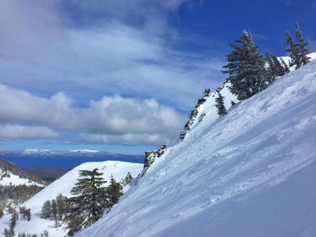Perfect wind buff in the Palisades. (Photo: Monica)