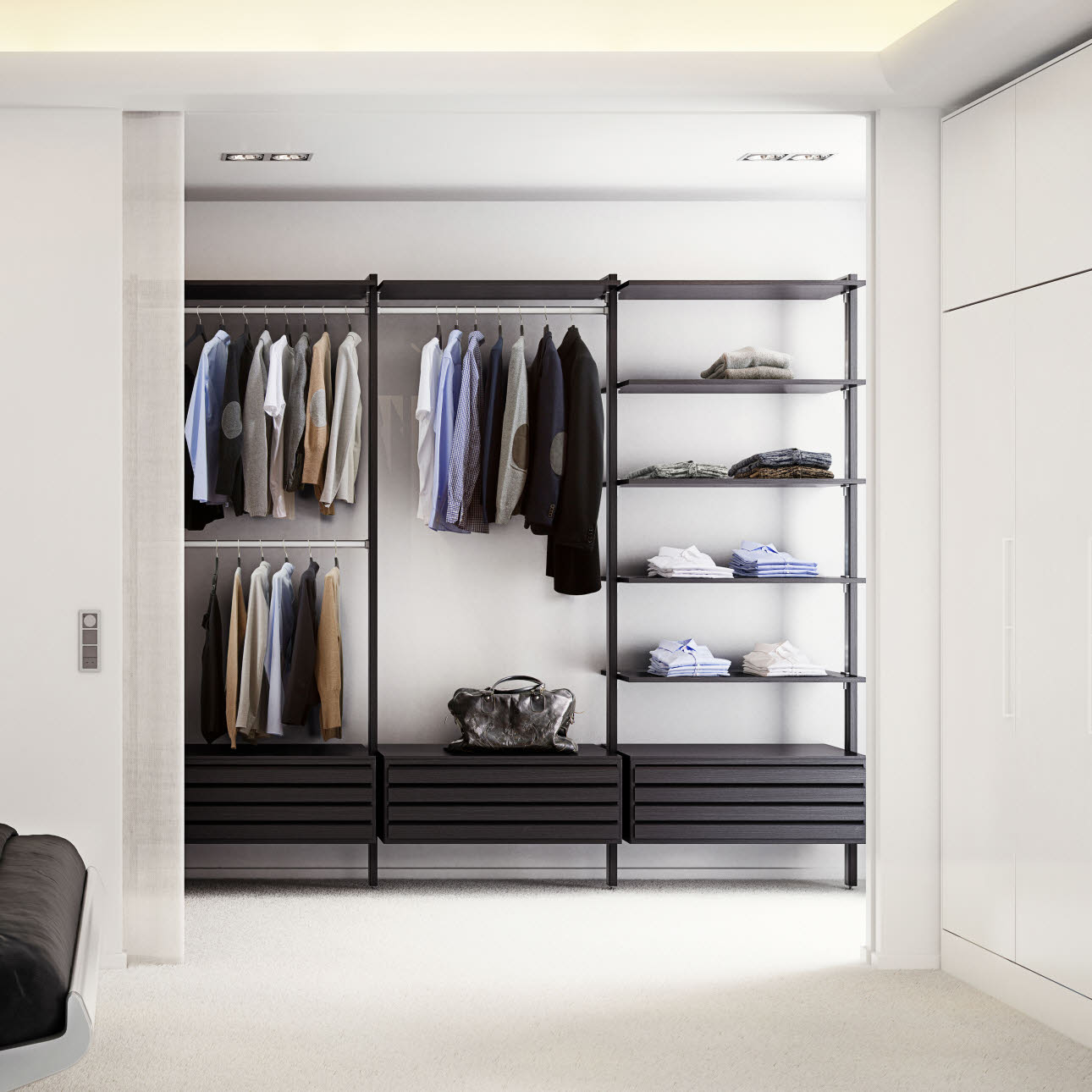 tall storage units for living room dark wooden floor ideas wardrobes - walk-in closets and lovely