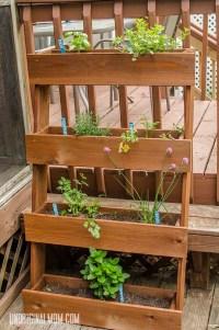 DIY Window Box Herb Garden - unOriginal Mom