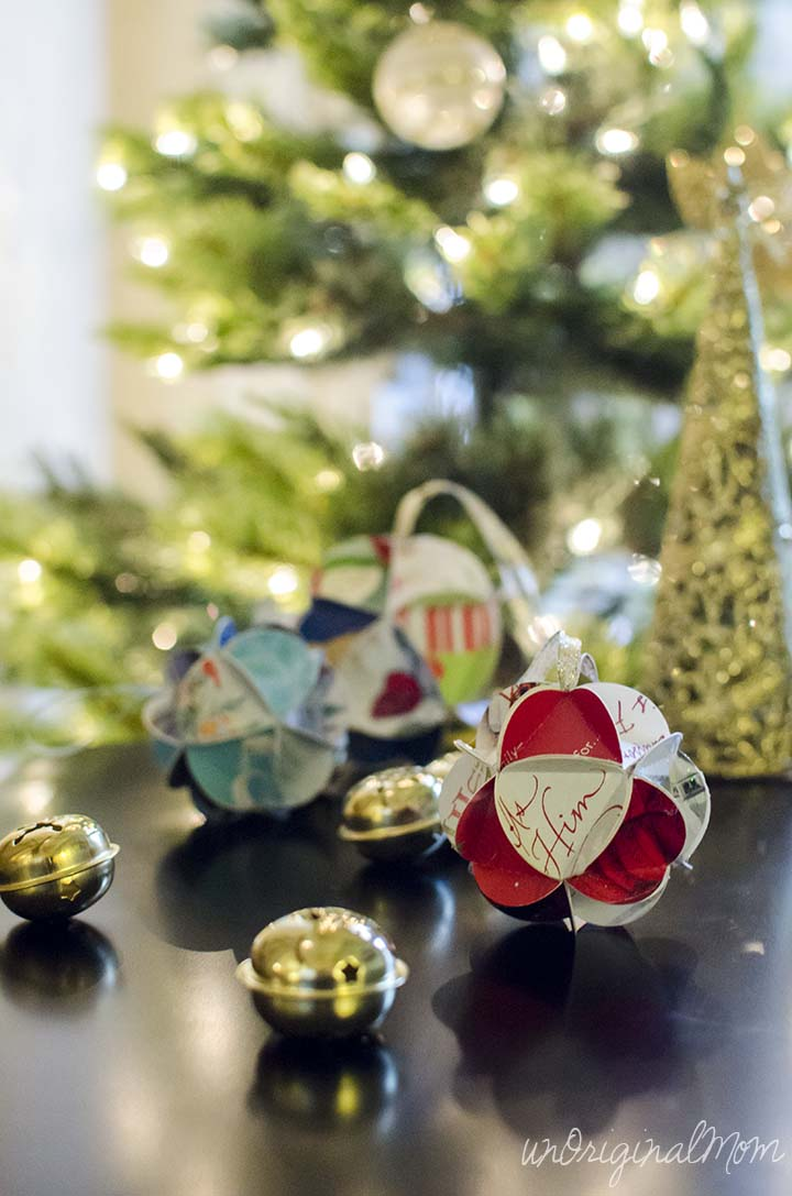 DIY Christmas Card Ornaments With Free Cut File