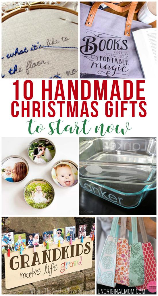 10 handmade christmas gifts