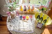 How to Create a Bridal Shower Mimosa Bar - unOriginal Mom
