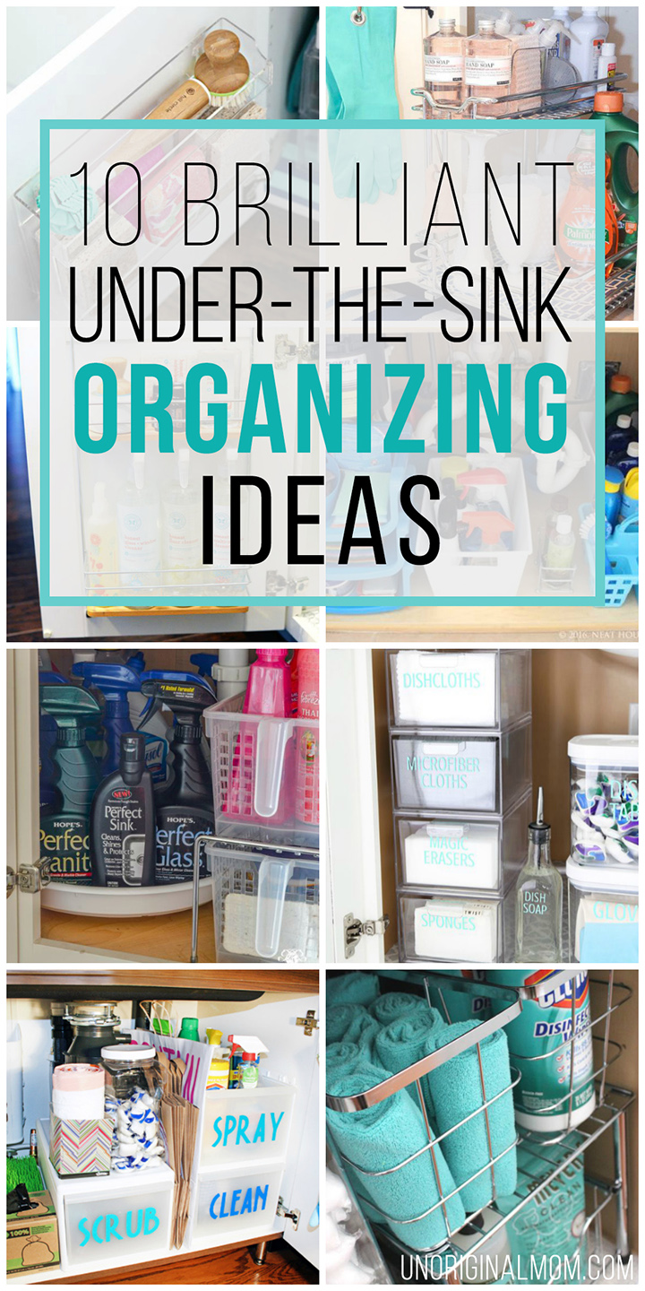 10 Brilliant Under the Sink Organization Ideas  unOriginal Mom