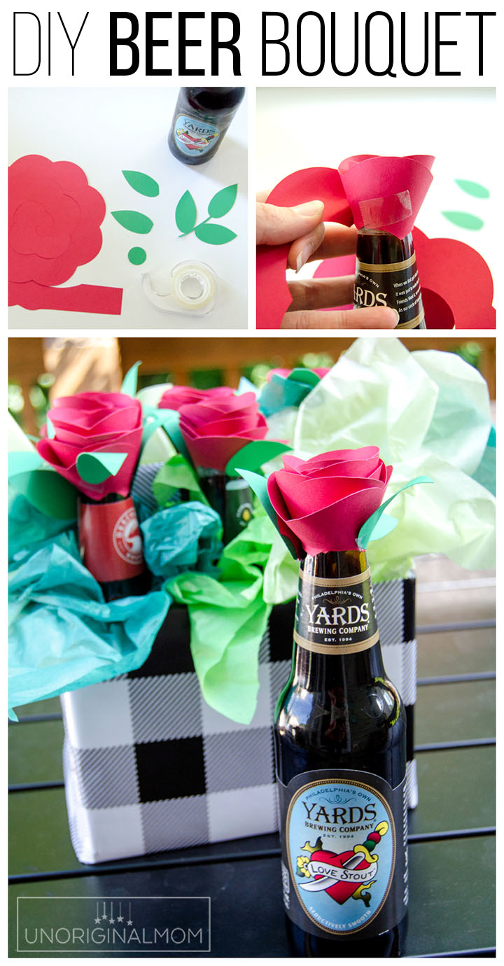 beer bouquet tutorial beer