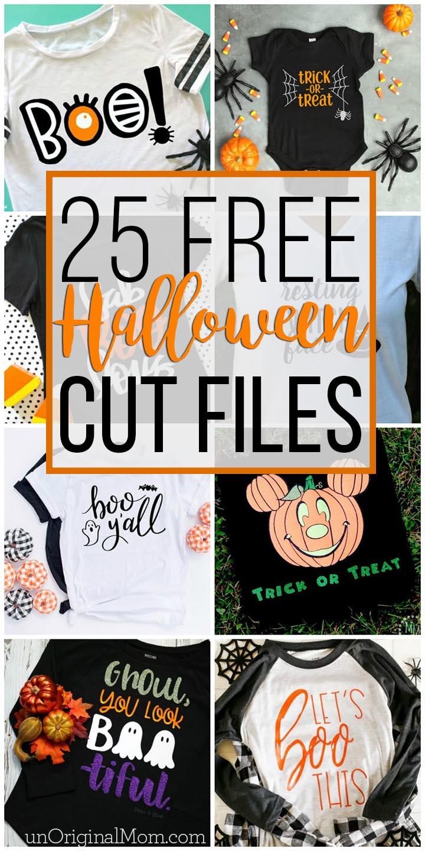 Download 25 Free Halloween Cut Files