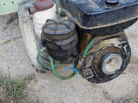 motocoltivatore Grillino 126- pulizia filtro aria