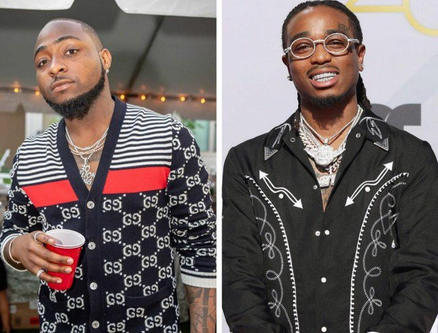 Davido Set To Feature On Quavo's Debut Solo Album
