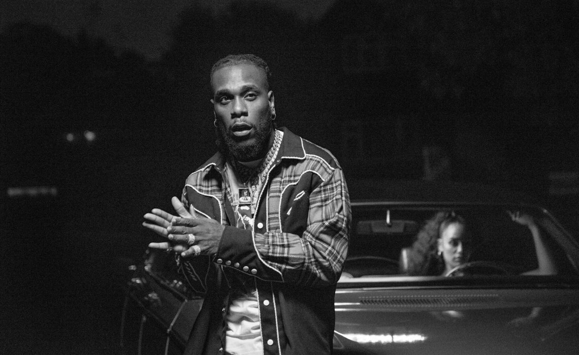 Burna Boy and Jorja Smith Release a Thriller Video for 'Gum Body'