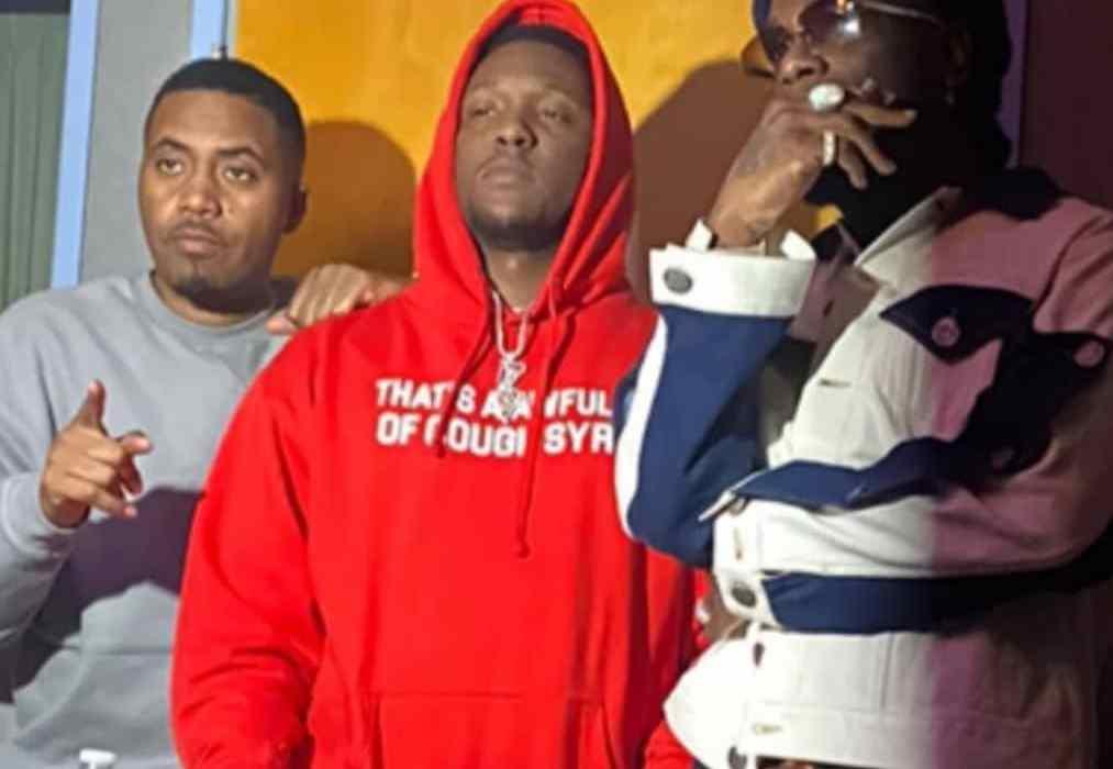 Burna Boy Hits the Studio with Nas & Hit Boy