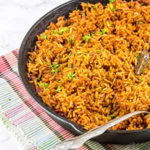 10 Ghanaian Dishes Jollof Rice