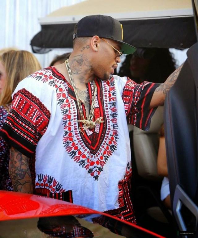 Chris Brown Dashiki