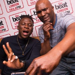 Adesope Olajide and Stonebwoy