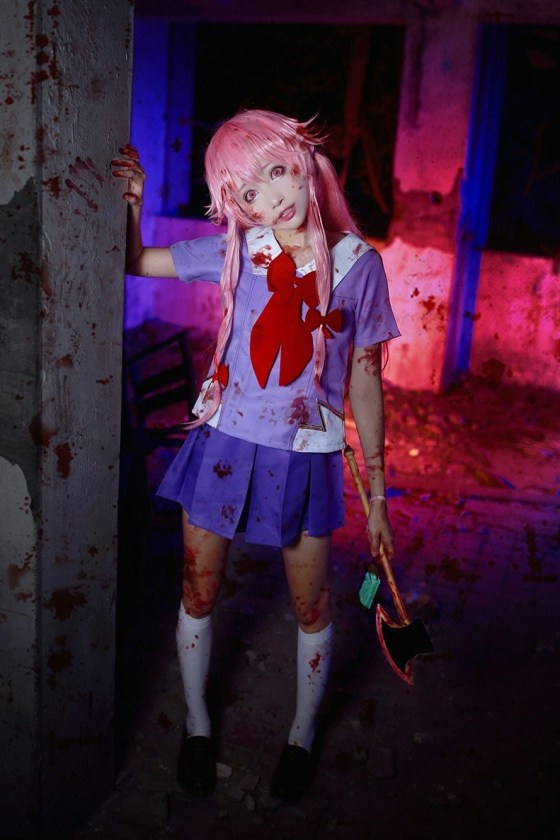 15 Scary Anime Cosplay Ideas For Halloween - UNOTAKU Anime ...