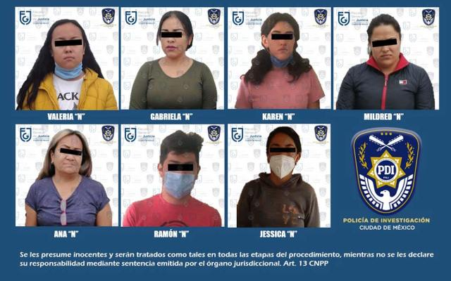 Band of kidnappers dismantled in CDMX and Edomex
