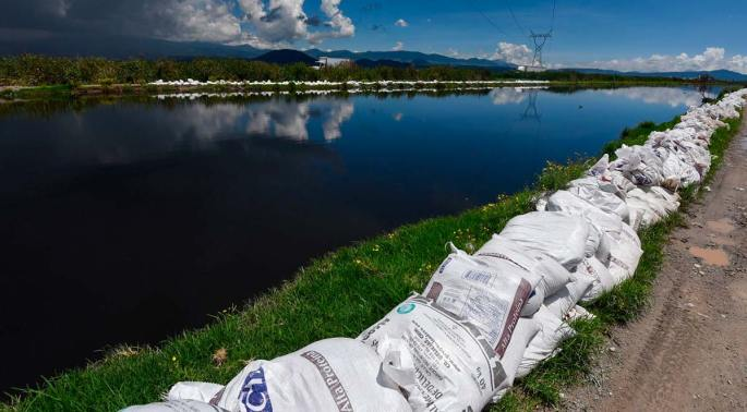 Puebla: 7 areas are alerted for a possible overflow of the Atoyac river