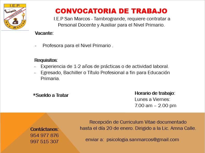 Convocatoria de empleo « Boletin Digital de la Universidad ...