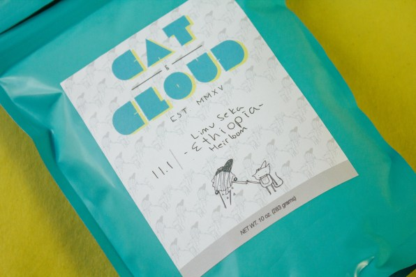 Cat & Cloud's Limu Seka Ethiopia Heirloom