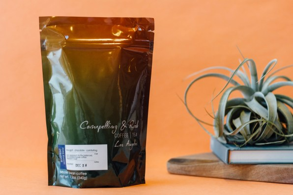 Compelling and Rich Coffee's Ombre Design