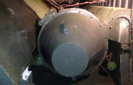 Parte del armamento que viajaba en el buque. Reuters