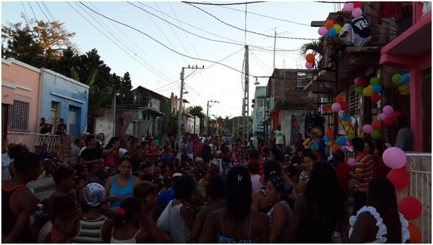 Reyes Magos 2014 - UNPACU - Calle 5ta - Vista Hermosa - Santiago de Cuba
