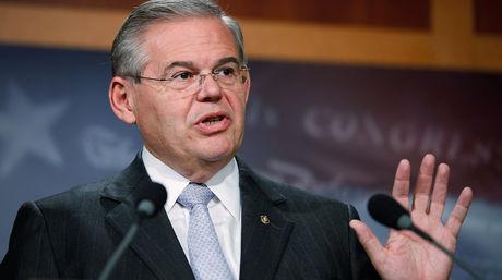 El presidente del Comité de Exteriores del Senado de Estados Unidos, el demócrata Robert Menéndez / AFP