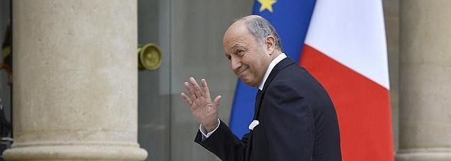 El ministro de Exteriores de Francia, Laurent Fabius. / Afp