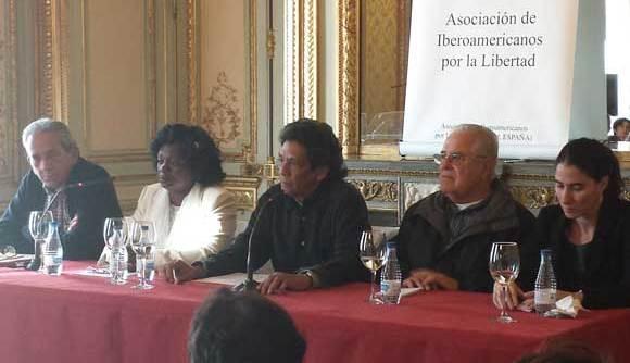 Reunion en Madrid de una representación de la sociedad civil independiente cubana