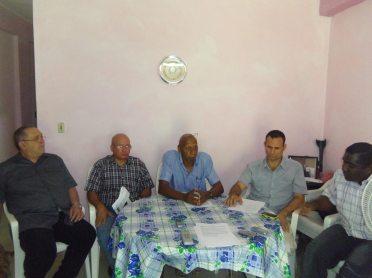 Miembros de la FANTU y UNPACU unidos