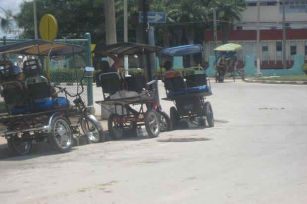 bici taxistas