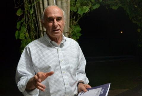 El ex ministro y analista chileno, Sergio Bitar, en La Habana (AFP)