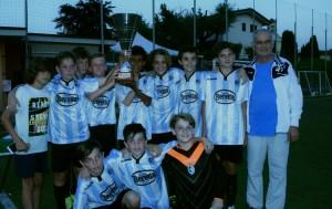 Esordienti 2004-5 Luciano Manara vince il Trofeo Candido Cannavò